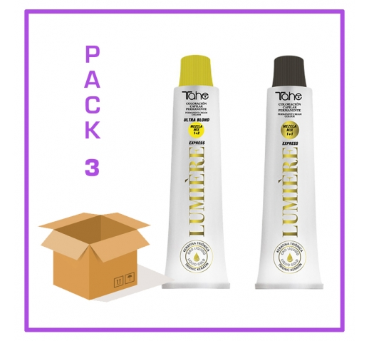 TINTE LUMIERE EXPRESS TAHE 100 ML - PACK 3 UDS
